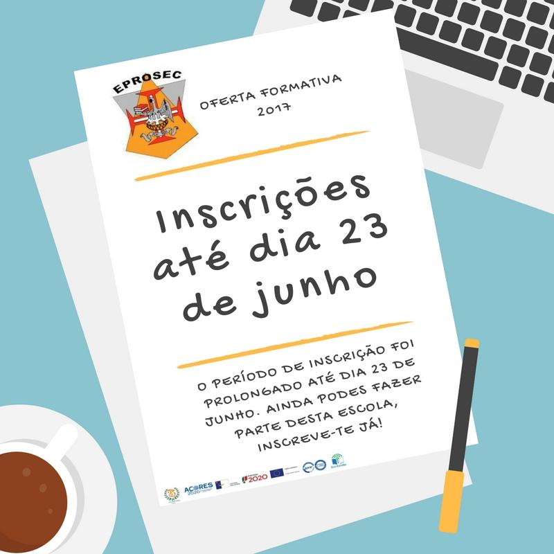 O prazo das inscrições foi alargado para dia 23 de Junho